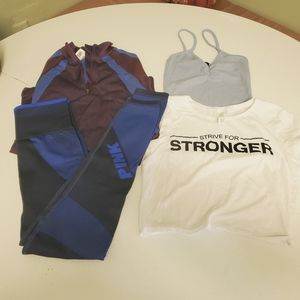 Work out set size small